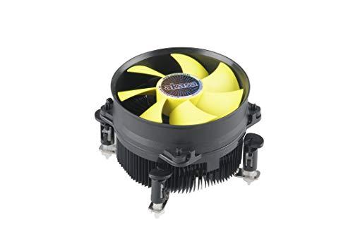 Akasa AK-CC7117EP01 K32 CPU-koeler voor Intel LGA 1151 Moederbord/LGA 1155, 1156 & LGA 775 / Perfecte vervanging voor Intel Stock Cooler/CPU-ventilator PWM met Koelplaat