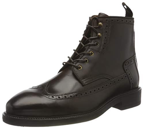 GANT FOOTWEAR Herren FLAIRVILLE Mode-Stiefel, Dark Brown, 44 EU