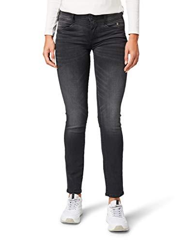 TOM TAILOR Damen Jeanshosen Alexa Slim Jeans Grey Denim,30/30,10210,2500