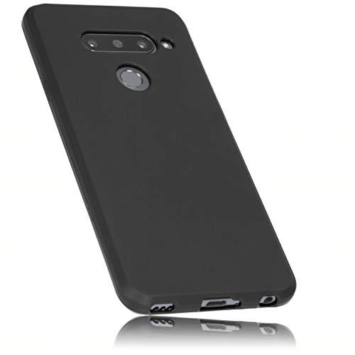 mumbi Hülle kompatibel mit LG V40 ThinQ Handy Hülle Handyhülle, schwarz