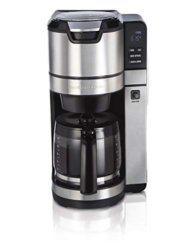Hamilton Beach 45505 Programmable Coffee Maker, 12 Cup, Black