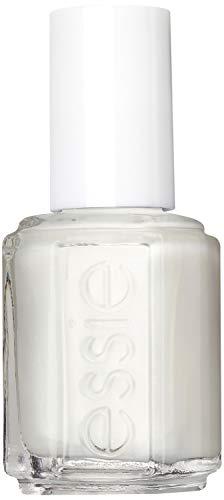Essie Nagellack für farbintensive Fingernägel, Nr. 4 pearly white, Weiß, 13,5 ml