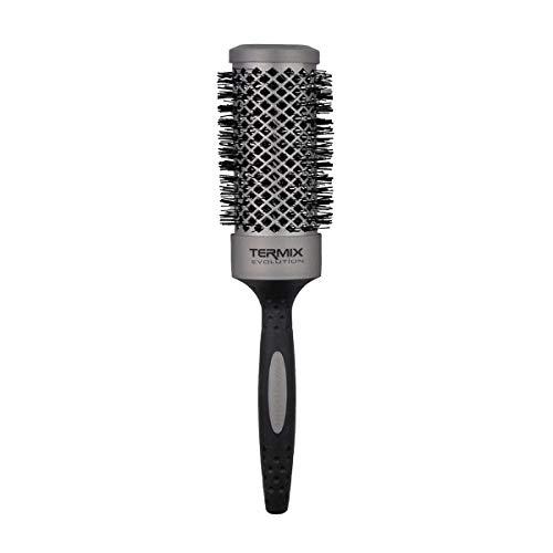 Termix Evolution Basic Ø43- Cepillo térmico redondo con fibra ionizada de alto rendimiento, especial para cabellos de grosor medio. Disponible en 8 diámetros y en formato Pack.