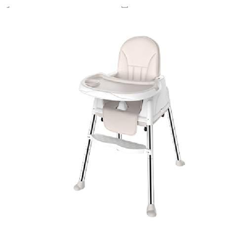 CML Salle à bébé Chaise Enfant Chaise réglable Sitting Enfant Portable Multifonctionnel Manger bébé Siège de Table Bleu Facile à Utiliser (Color : Beige)