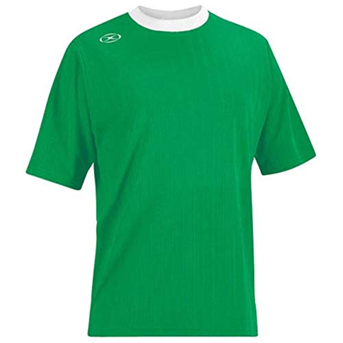 Xara Tranmere Soccer Jersey - Adult Medium, Green/White