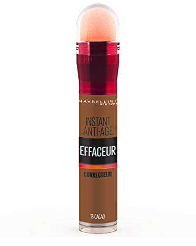 Maybelline New York - Anti-cernes/Correcteur Fluide - Instant Anti-Age L'Effaceur - 13 Cacao - 6,8 ml