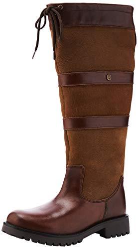 Cabotswood Damen Highgrove Mode-Stiefel, Kastanie/Bison, 40 EU