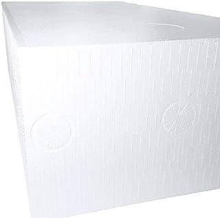 発泡スチロール ブロック 普通硬さ 規定品ブロック 1800mm×900mm×500mm 1個 白色