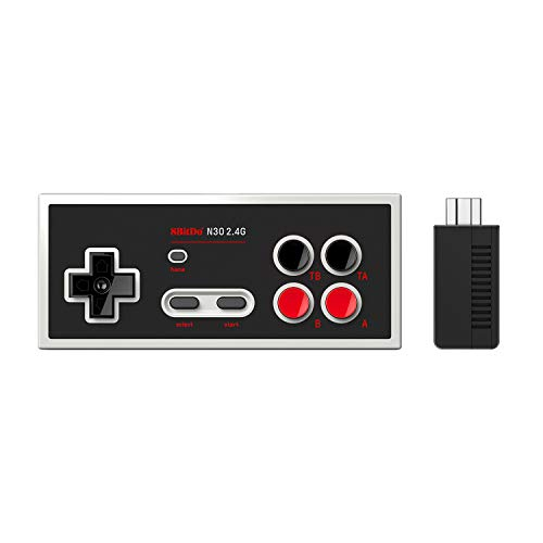 8Bitdo N30 2.4G Wireless Gamepad for NES Mini Classic Edition (Electronic Games) [Importación inglesa]
