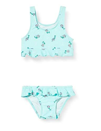 Sanetta Mädchen Bikini Badebekleidungsset, Blau (Blau 5999), (Herstellergröße: 128)