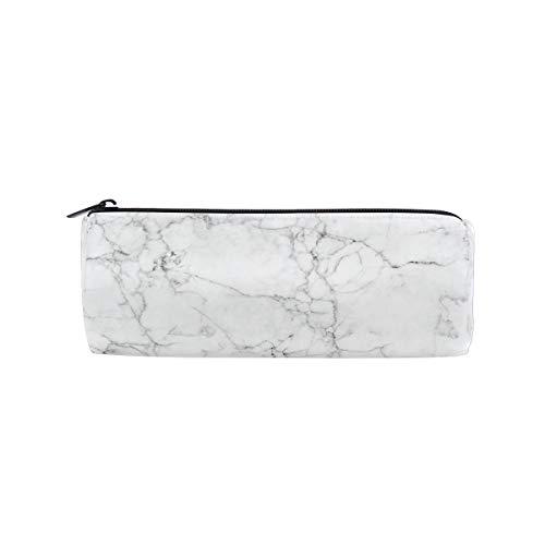 JOKERR Pencil Case Abstract Marble Pencil Bag Pen Zipper Bag Pouch Organiser Makeup Brush Bag for Girls Stationery Office Supplies