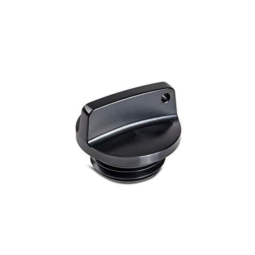 XBFVE Filler la Cubierta del Casquillo de Aceite Magnatic Racing Engine Fuel Oil Cap Plug Fit for D YZF-R6S / R6 / R3 / R25 / R1M / R1 YZF750R / 600R / 1000R / 1000 Etc (Color : Negro)