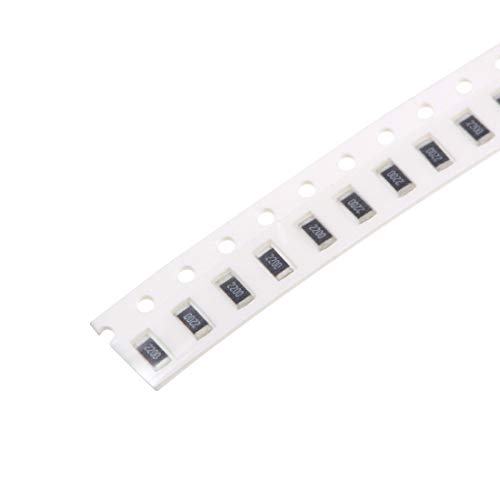 uxcell SMD Chip Resistor, 220 Ohm 1/4W 1206 Fixed Resistors, 1% Tolerance 200pcs