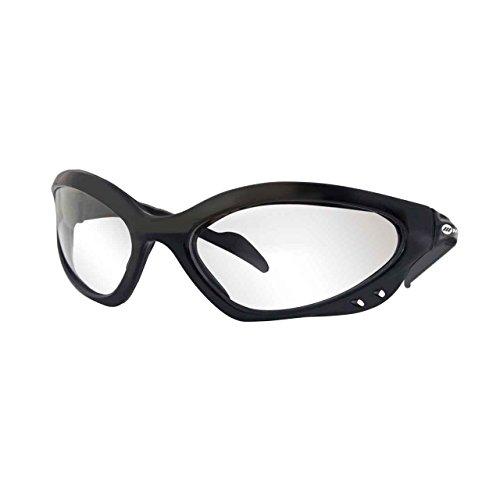 Miller 238979 Safety Glasses Clear Lens/Black Frame