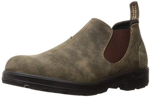 Blundstone Original Low-Cut Shoe Rustic Brown AU 7.5 (US Men's 8.5, US Women's 10.5) Medium