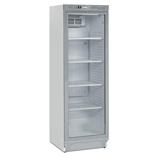 Armadio refrigerato positivo ventilato vetro 380 L