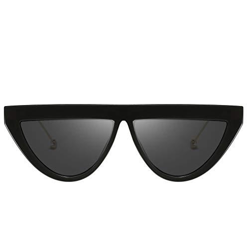 Storerine Ultraviolett für die Reise verhindern Männer und Frauen Persönlichkeit Brillengestell Trends Punk Wind Brillengestell Retro Brillen Mode Mann Frauen unregelmäßige Form Sonnenbrille