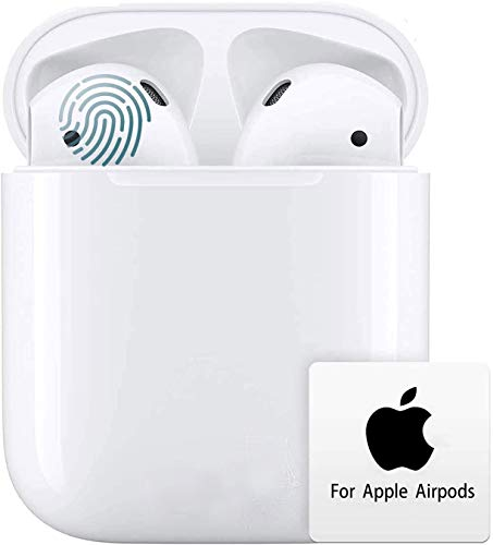 Wireless Earbuds Bluetooth 5.0 Headphones 3D Stereo Headphones Noise Cancellation in-Ear Built-in Mic with Fast Charging Case, IPX5 Waterproof Earphones for Apple iphone/Air-pods/Android/Samsung