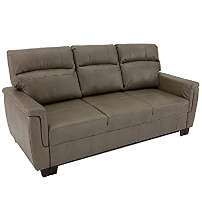 """RV Trifold 80"""" RV Sofa Bed RV Loveseat   Sleeper Sofa   RV Furniture   RV Couches (Putty) by RecPro"""