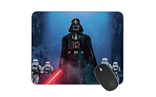 Alfrombrillas Darth Vader Alfombrilla de ratón para Juegos con Base de Goma Antideslizante Alfombrilla de ratón Impermeable para Oficina en casa 25x30cm