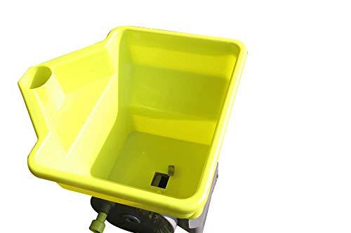 TLX Handle-Held Spreader for Ice Melt/Sand/Salt Snow De-Icers,Precision Hand-held Broadcast Spreader,Lawn Seed,Fertilizer &Salt Spreader.