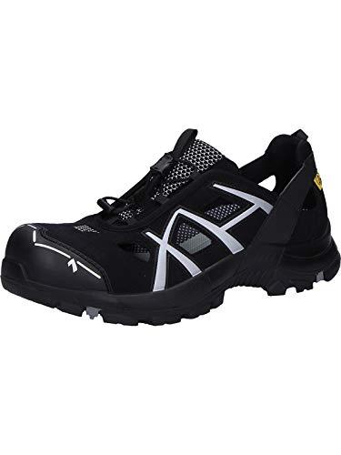 Haix Sicherheitsschuhe Safety 62 Low, Farbe:schwarz/grau, Schuhgröße:42 (UK 8)