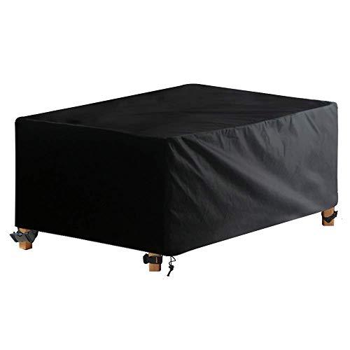 baratos y buenos AWNIC Cubierta para mesa de jardín Cubierta para muebles de patio Impermeable Tela Oxford Resistente … calidad