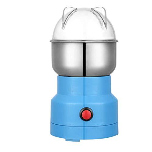 Apofly Elektrische Getreide Getreidemühle, Multifunktions-Smash-Maschine Grinder Haushalt Mahlpulvers Elektrische Fräsmaschine Grinder für Trockenfutter Kaffeebohne