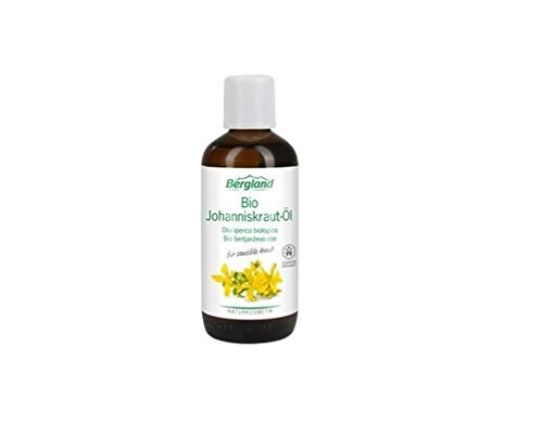 Bergland Bio-Johanniskraut-Öl, 1er Pack (1 x 100 ml)