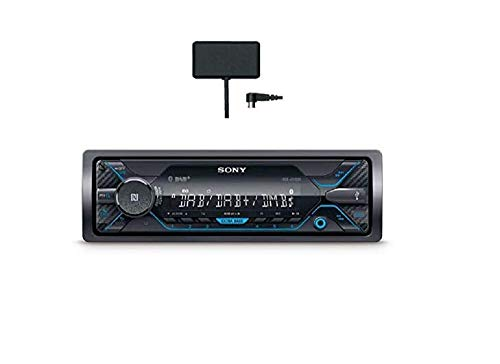 Sony DSX-A510KIT Autoradio con Ricezione DAB/DAB+/FM ed Antenna DAB inclusa, Dual Bluetooth, NFC, Siri Eyes Free, AUX e USB per iPhone e iPod, Android Music Playback, potenza 4x55 W, File FLAC
