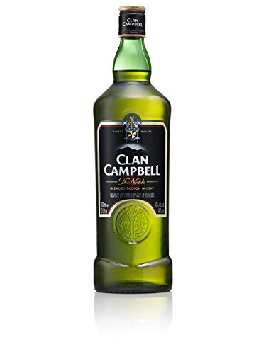 Clan Campbell Whisky Ecosse Blended 40% vol. - La bouteille de 1L