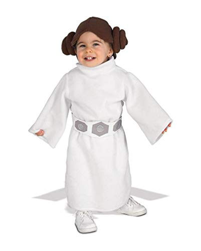 Horror-Shop Disfraz de Princesa Leia Baby 12-24 Monate