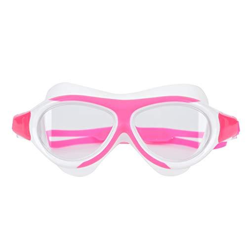 SALUTUYA Gafas de natación para niños Maravilloso Equipo de natación Unisex antiniebla Azul Oscuro(Pink)
