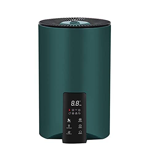Humidificadores Humidificador de la habitación del hogar del hogar Acondicionador de aire for purificar el aire con la pesada pulverizador de niebla for mujeres embarazadas y bebés para el Hogar Dorm