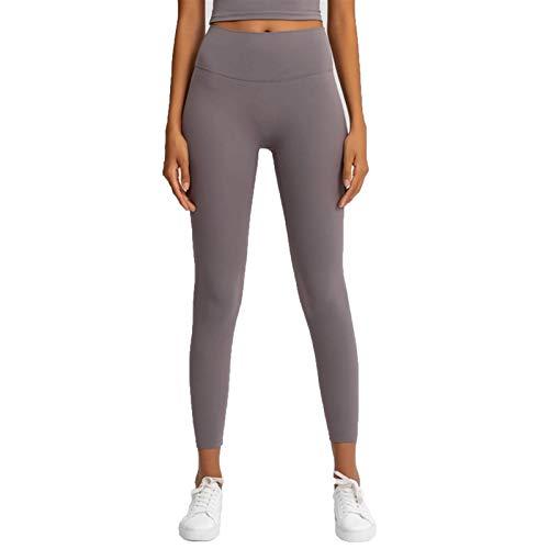 TXXT Leggings de yoga para mujer, cintura alta, pantalones de yoga, a prueba de sentadillas, fitness, gimnasio, atlético, leggings deportivos (color: Sea Moon Rock, tamaño: grande)