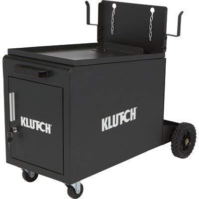 Klutch Compact Locking Welding Cabinet - 135-Lb. Capacity