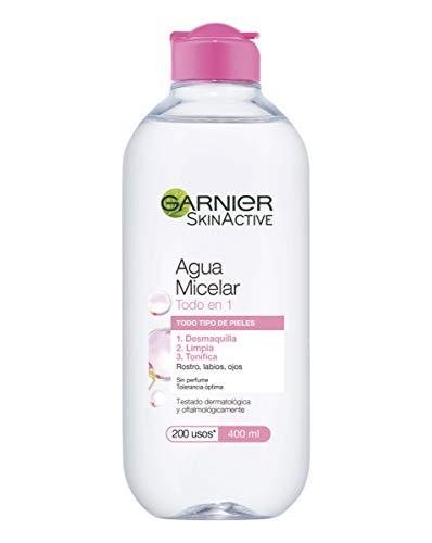 Garnier Agua micelar (todo tipo de pieles) - 400 ml.