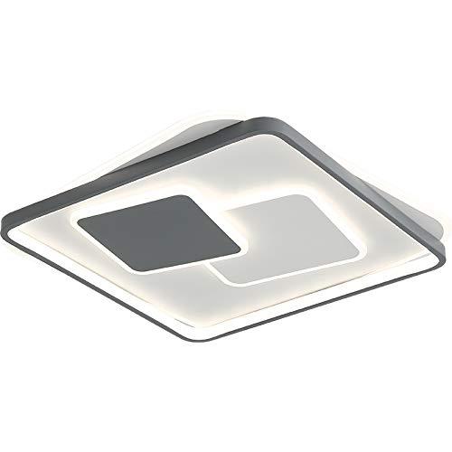 NEU Euroton 9643 50x52 cm H 5,5cm 100W LED Deckenleuchte mit Fernbedienung Lichtfarbe/Helligkeit einstellbar (9643++FX)