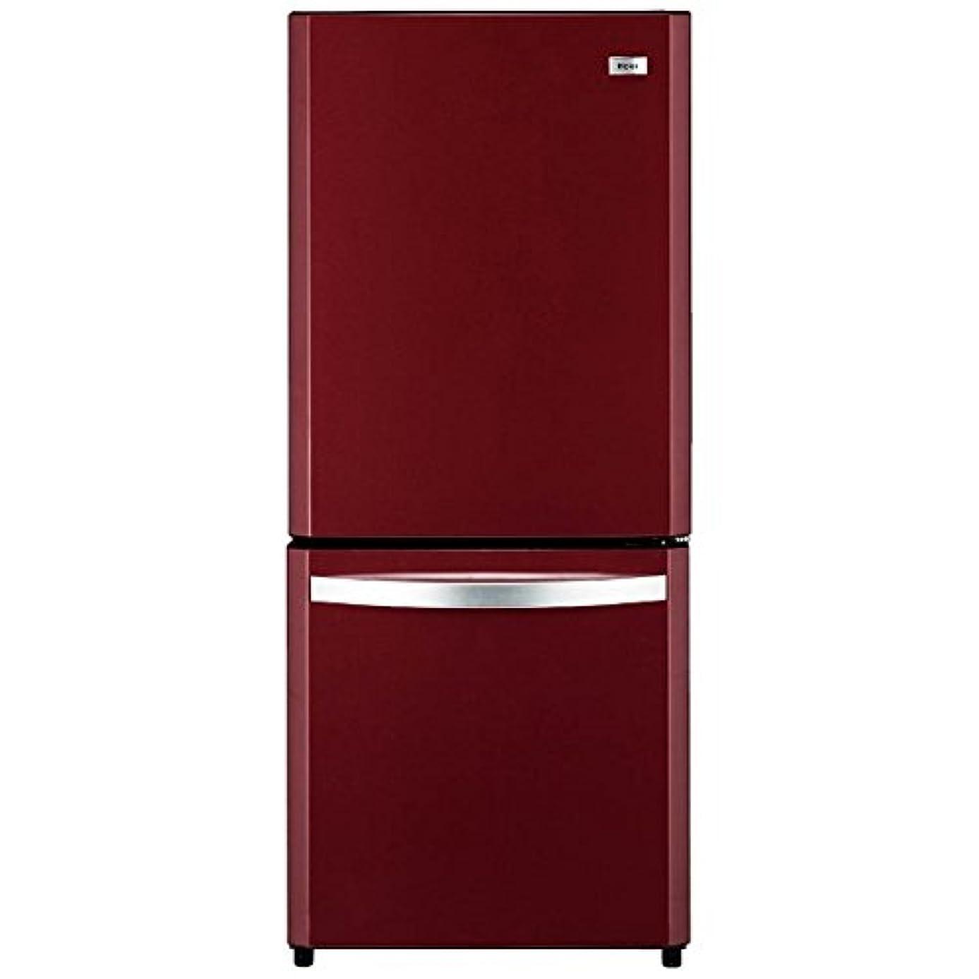 表面マラウイ焼くハイアールジャパンセールス 138L 2ドア冷凍冷蔵庫 ルビーレッド ■型番:JR-NF140K(RR)