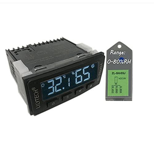 ZL-7860A Regolatore di umidità della temperatura costante intelligente Termostato dell'igrostato per umidificatore Controllo del deumidificatore Calibrazione dell'umidità della temperatura Pratico