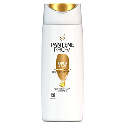 Pantene Pro-V Repair & Care Shampoo Für Geschädigtes Haar, 90ml, Haarpflege Trockenes Haar, Shampoo Damen, Haarpflege Für Trockene Haare, Haarpflege Glanz, Ohne Silikon,...