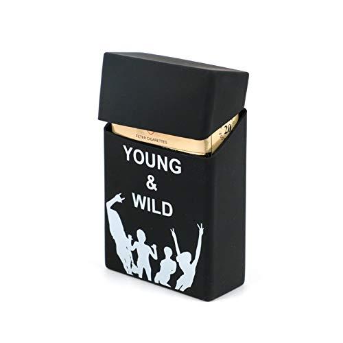 Zigarettenetui Yuan Ou Zigarettenetui Abdeckung Mann Frauen Rauchen Zigarettenschachtel Hülle Tasche Zigaretten Zigarettenpackung Cover Geschenk B5733