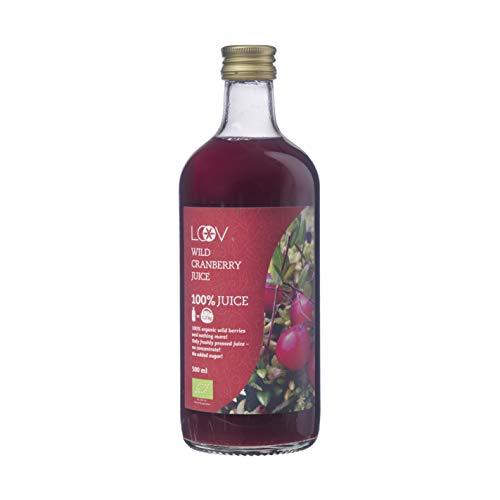 Zumo de Arándanos Silvestres Orgánico LOOV, 500 ml, cosechado en