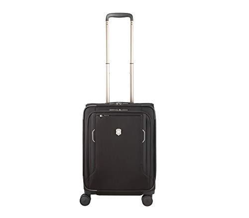 Victorinox Werks Traveler 6.0 Softside Global Carry-On - Handgepäckkoffer Trolley 20x40x55 - Schwarz