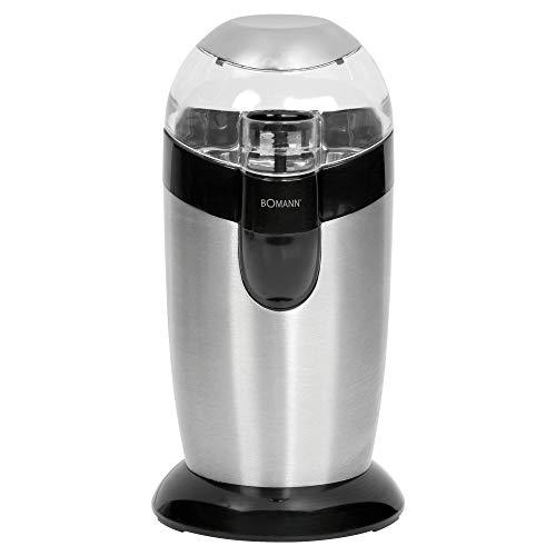 Bomann KSW 445 CB Elektrische Kaffeemühle mit Schlagwerk 40 g Fassungsvermögen, Impuls-Betrieb