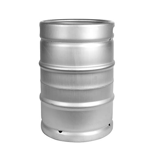 1/2 Barrel Sankey Commercial Keg - American Made - Stainless Steel - 15.5 Gallon
