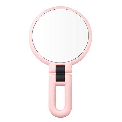 Pixnor Maquillage Miroir Poche Poche Usb Recharge Miroirs Grossissants Mini Miroir de Voyage Parfait pour Sac à Main Poche Voyage Blanc 2 Grossissant