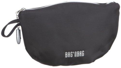 Bodenschatz 1-556 NY 01 Nylon, Damen Kosmetiktaschen, Schwarz (black 01), 27x8x17 cm (B x H x T)