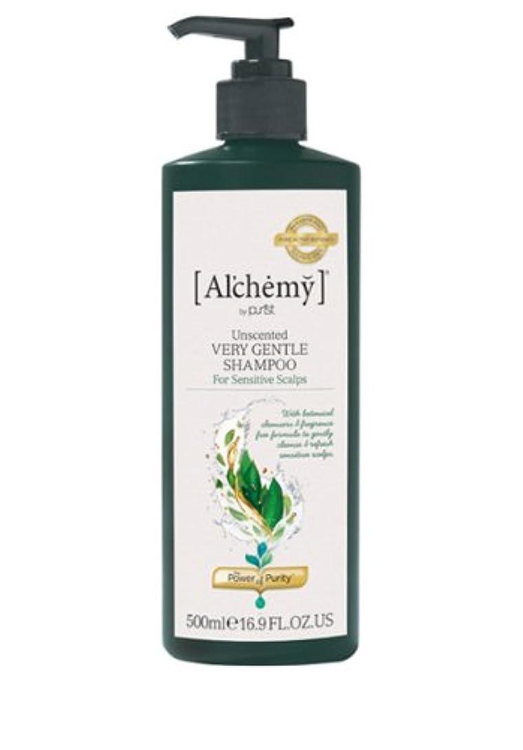 クレーター豊富に非行【Al'chemy(alchemy)】アルケミー ベリージェントルシャンプー(Unscented Very Gentle Shampoo)(敏感肌用)500ml