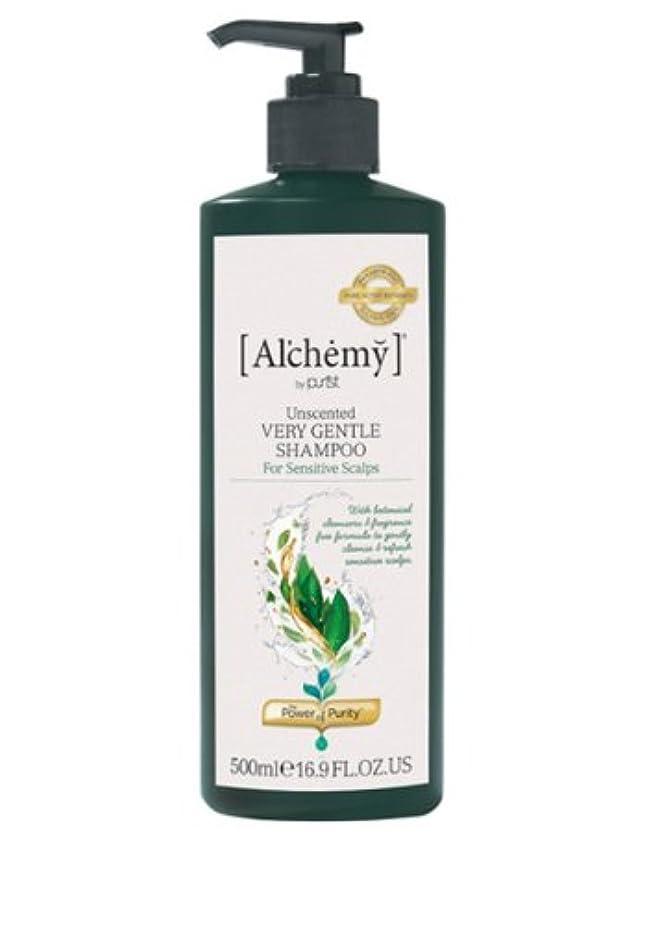 軽罪スカート【Al'chemy(alchemy)】アルケミー ベリージェントルシャンプー(Unscented Very Gentle Shampoo)(敏感肌用)500ml